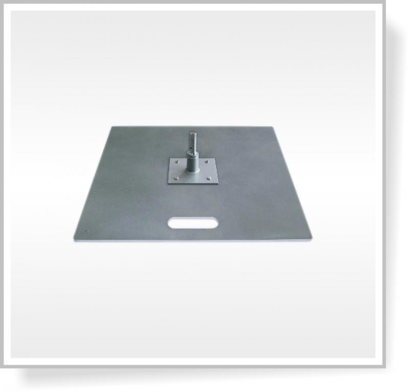 Deska 55 x 55 cm s rotátorem, 18,5 Kg