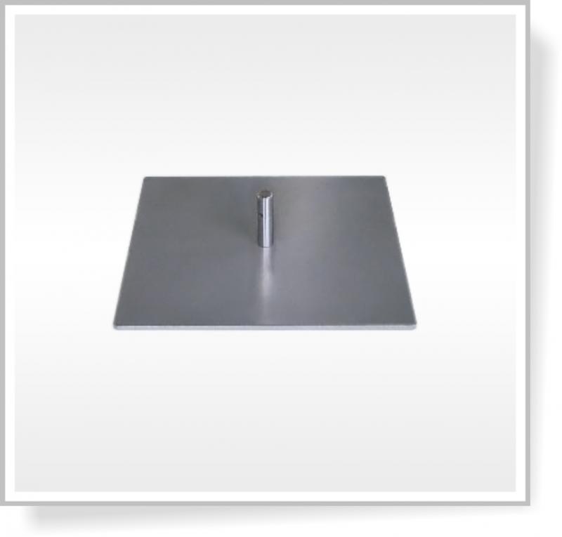 Deska 40 x 40 cm bez rotátoru, 9 Kg
