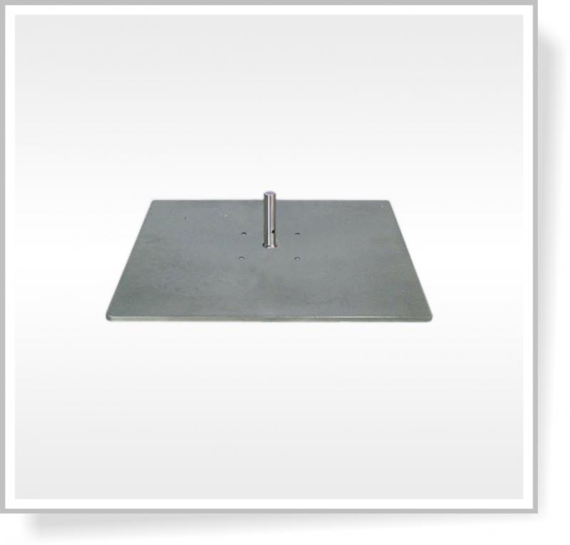 Deska 30 x 30 cm bez rotátoru, 3,9 Kg