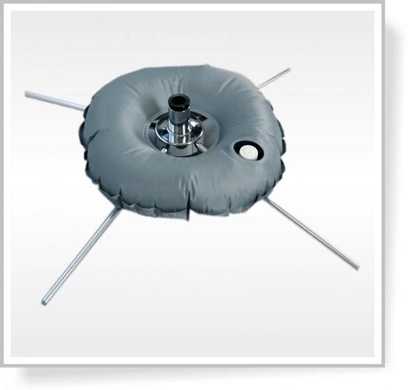 Zátěžový kruh - Pro křížový a nájezdový stojan nebo pro desky, 10 l