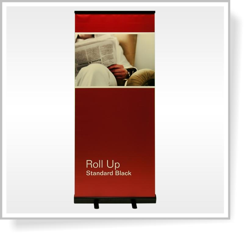 Roll Up Standard Black