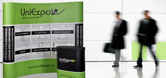 Uniexpo: POP-UP výstavní stěny